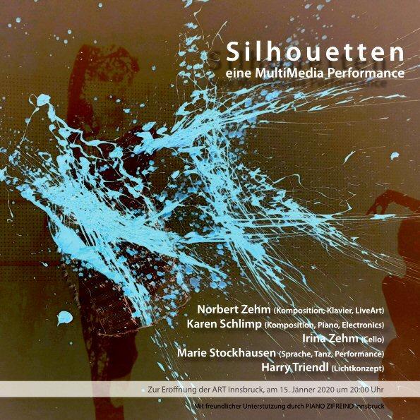 Silhouetten - Performance zur 24. ART Innsbruck